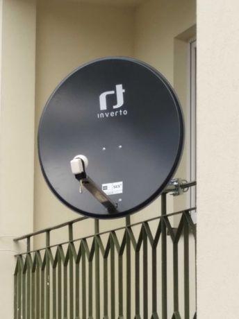 Ustawienie , montaż anten satelitarnych i DVB-T