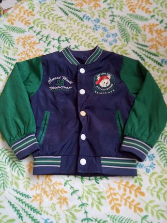 Bluza kurtka bejsbolówka chłopięca r 104