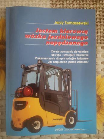 Książka Jestem kierowcą wózka jezdniowego napędzanego Tomaszewski
