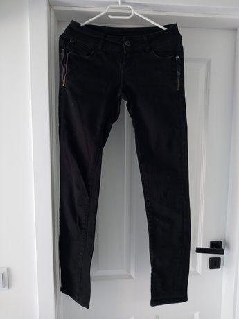 Spodnie czarne jeans Tally Weijl XS 34