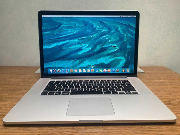 MacBook Pro 15 2015 2,5 GHz і7 16 gb 512 gb SSD Z0RF00003 2 цикли
