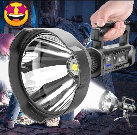 Holofote com tripé Luz branca Alto Brilho Led XHP. 70 (7000 lúmens)