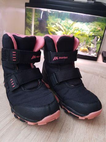 Buty trekkingowe dziewczęce przejściowe na zimę martens 34 na jesień