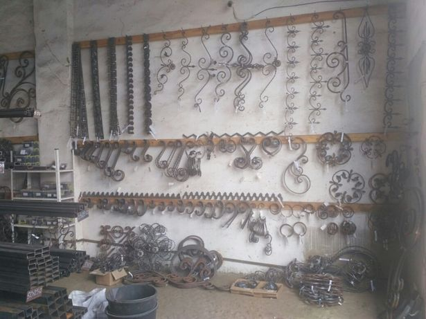 Ковка, ковані елементи, металопрокат
