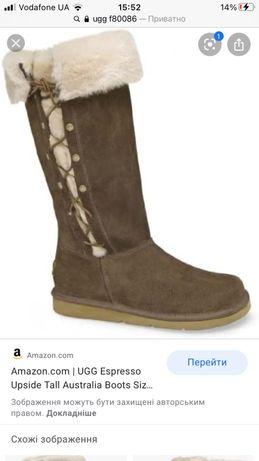 Кожаные зимние сапоги ботинки уги Ugg 37-38р ecco geox