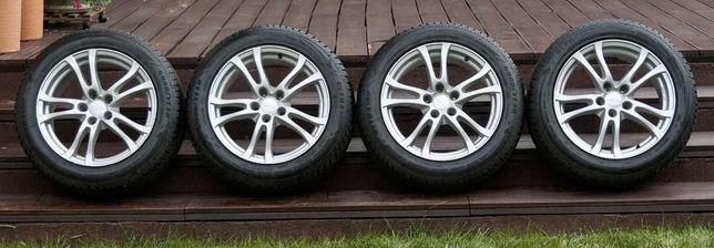 "Koła VW Passat B8. Felgi aluminiowe 17"", opony zimowe Good Year"