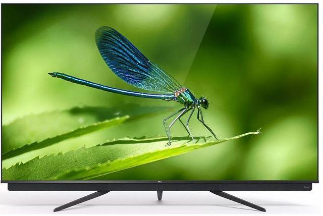 Telewizor QLED TCL 55C815 QLED, Odświeżanie: 2800 Hz,WiFi, Smart TV