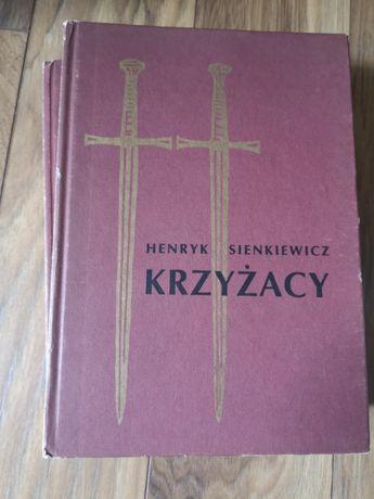 Krzyżacy tom I i II - Henryk Sienkiewicz.
