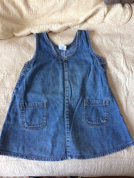 Tunika sukienka jeansowa