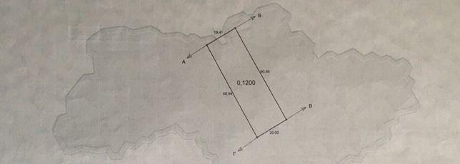 ТЕРМІНОВО! Земельна ділянка в Бородянці 12 соток (вул. Дружби, 6)