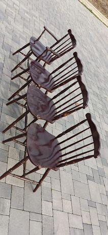 Krzesła drewniane patyczaki