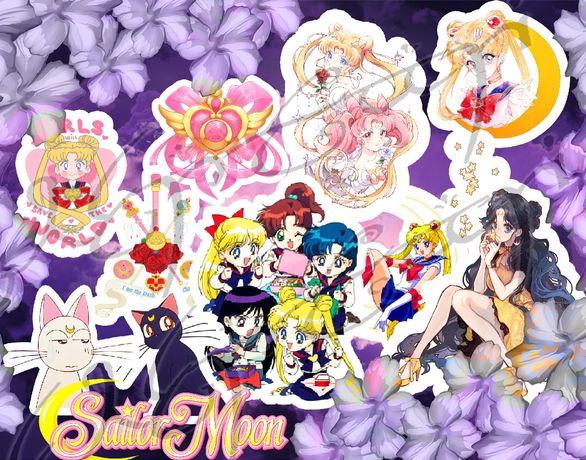 Autocolantes stickers Sailor Moon
