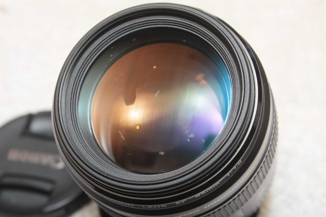 Canon EF 85mm 1:1.8 Sprawny ale... sample