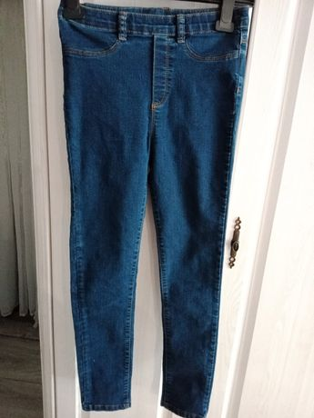 Spodnie rurki dziewczęce