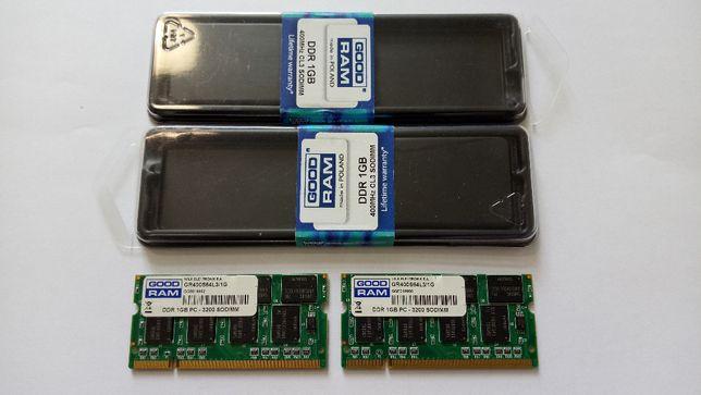 DDR 1GB 400MHz GoodRam 2шт.