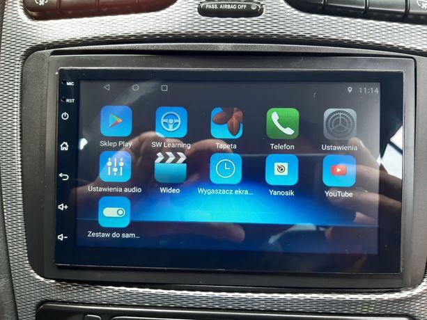 Radio 2 DIN Nawigacja GPS Android 8.1 WiFi 1/16GB