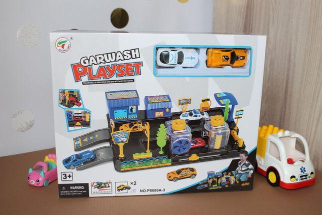 Гараж Детский, машинка 2шт, Игрушки для детей, Машинки, Магазин, Новые