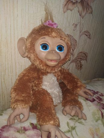 """Інтерактивна іграшка Кумедна мавпочка""""FurReal Friends""""в хорошому стані"""