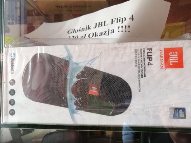 Przeniośny głośnik JBL Flip 4 nowy, Okazja