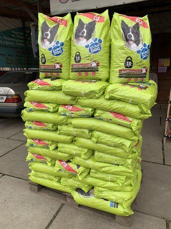 Корм для взрослых собак Euro Dog 10кг. Розница. Свежий.