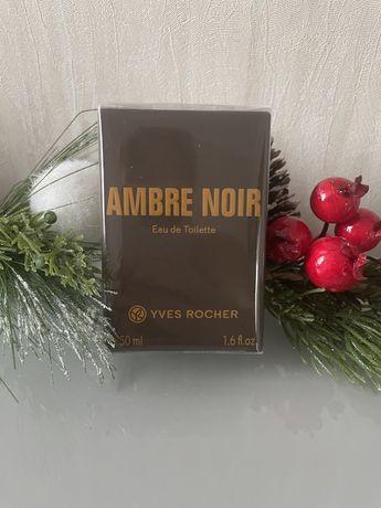 Туалетная вода Ambre Noir. Духи мужские от Yves Rocher