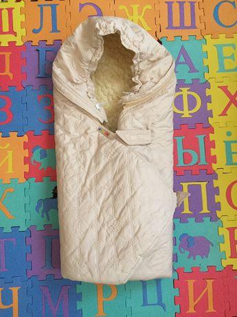 Продам конверт Бемби Bembi одеяло чехол овчина