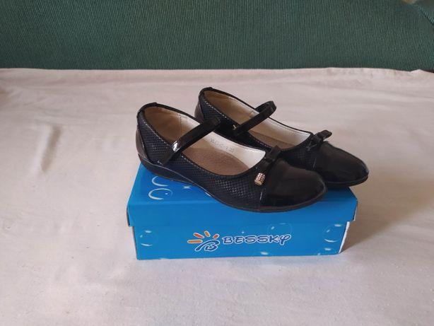 Черные туфли 35 размер