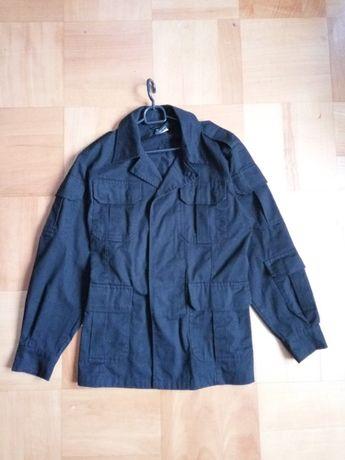 Komplet bluza i spodnie mundur wojskowy czarny