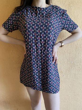 Сукня-туніка з принтом