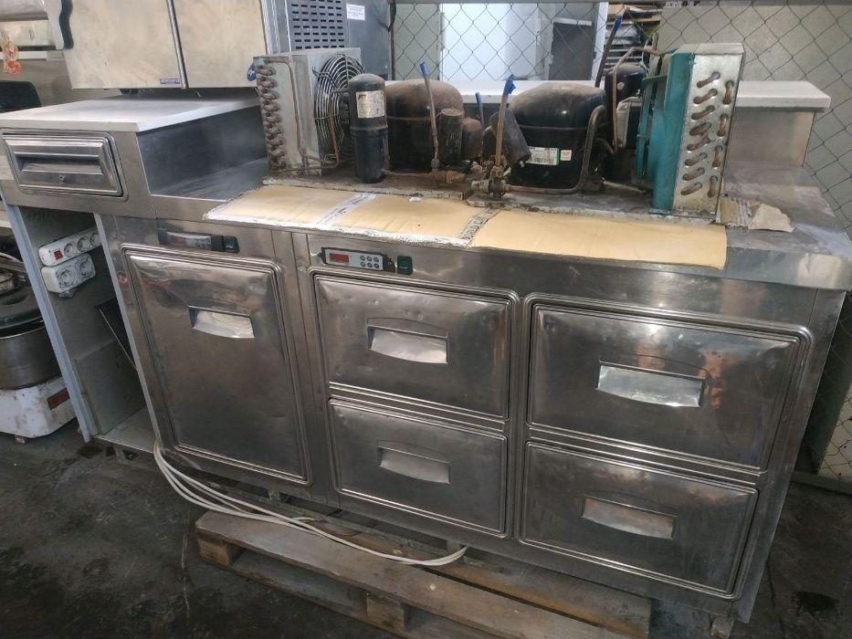 Барная стойка б/у стол холодильный морозильный бу для кафе ресторана Киев - изображение 1