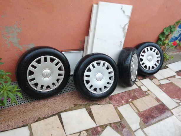 4 rodas jantes originais Citroen C3, Berlingo, Peugeot, 15 polegadas