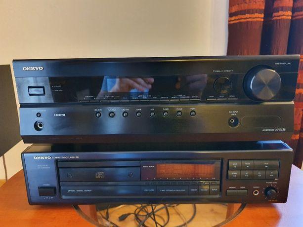 Amplituner 5.1 Onkyo HT-538 + CD / HDMI / Kino Domowe / Wzmacniacz