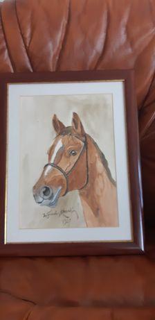 Obraz konia Kossak
