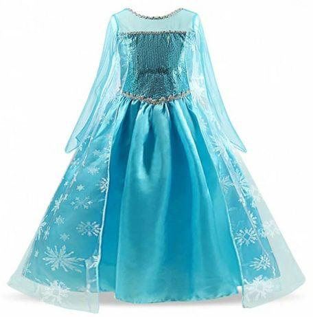 *NOVO* Vestido Elsa Frozen
