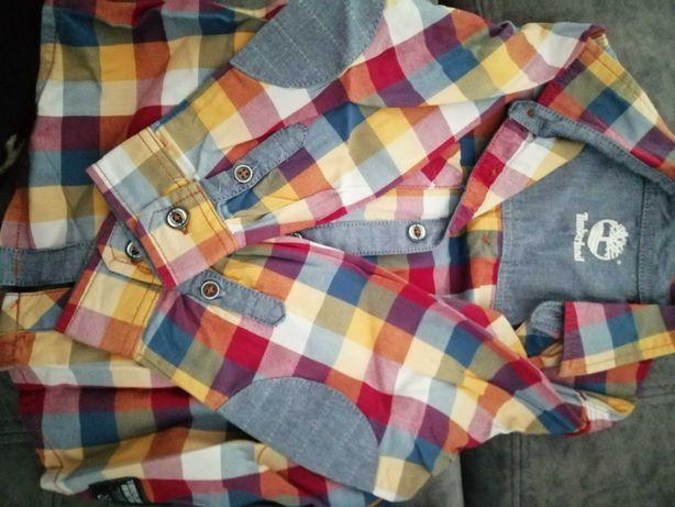 Camisa Timberland 2/3anos