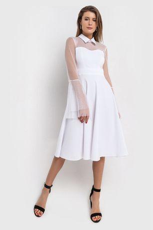 Бесплатная Олх доставка Платье белое вечернее или свадебное  Vovk