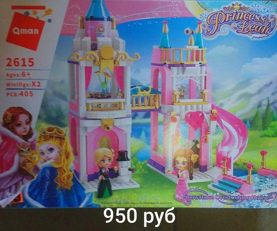 Конструктор лего замок для девочки