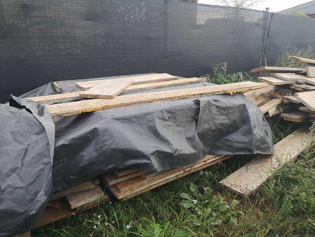 Płyty OSB i deski szalunkowe po 1 budowie