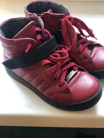 Кожаные итальянские детские ботинки Cherie в отличном состоянии