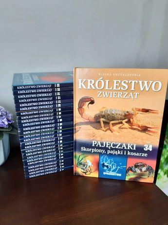 Encyklopedia Zwierząt 34 tomy wiedzy, piękne albumy