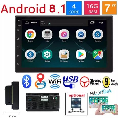 Android radio samochodowe 2 din GPS