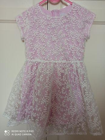 Różowa sukienka Max&mia 98