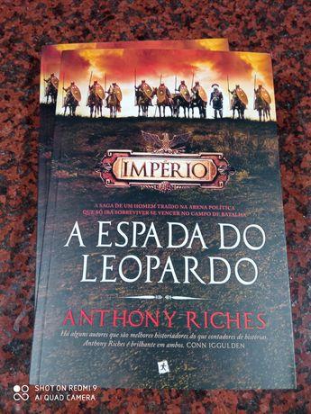 A Espada do Leopardo - de Anthony Riches - NOVO