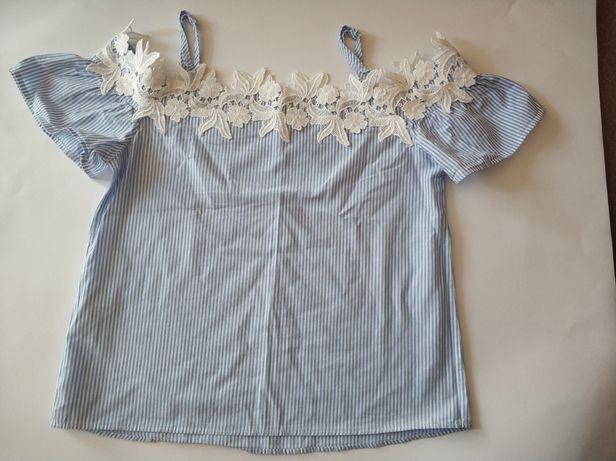 Bluzka koszulowa Orsay z prostym dekoltem
