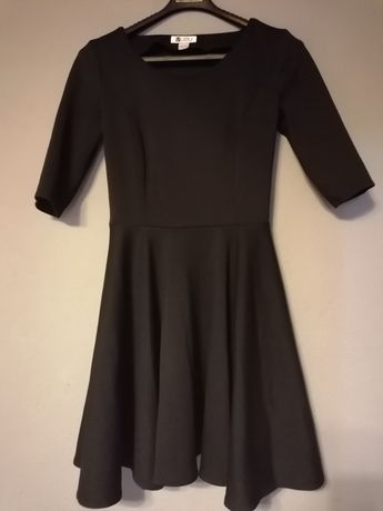 Czarna sukienka VUBU rozm Xs
