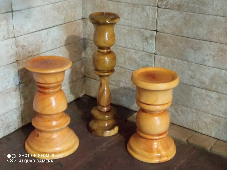 Дерев'яні підсвічники Золотоноша - изображение 1
