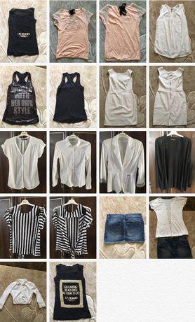 Bluzka, sukienka, spódnica