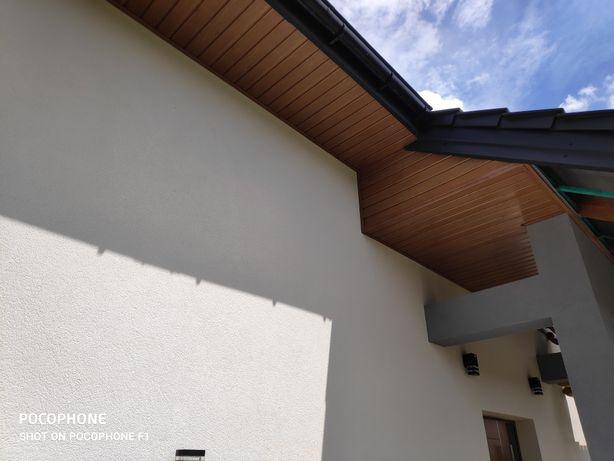 Podbitki dachowe - kompleksowy montaż