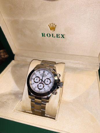 Rolex Daytona  JF SS White Dial Swiss 7750