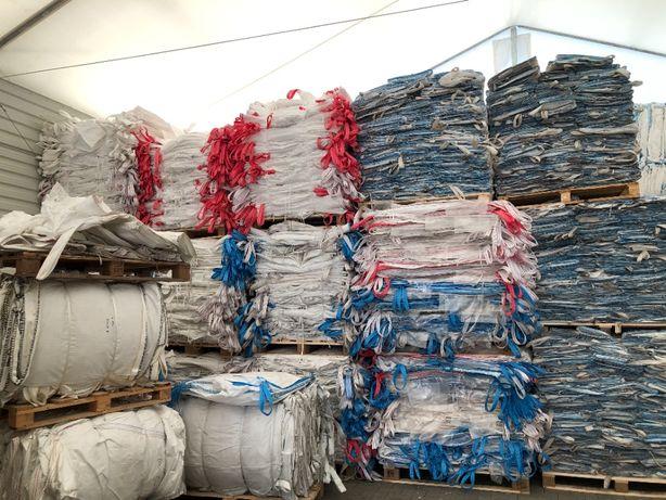 BIG BAG BAGI BEGI worki czyste na zboze owies zyto 1100 kg